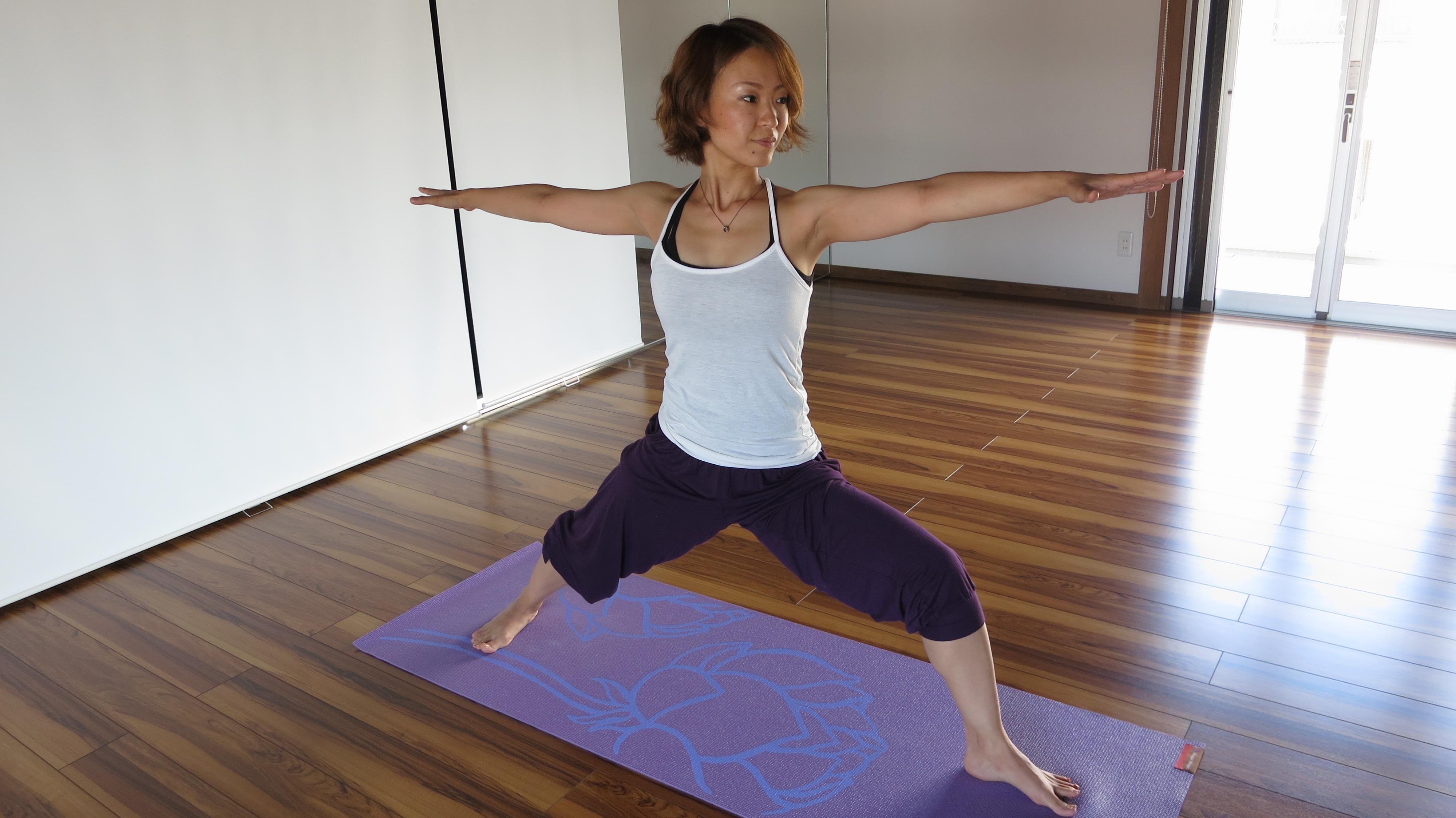 Yoga Instructor Kazumi